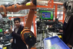 视觉检测设备和机器人配套